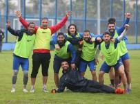 ELAZıĞSPOR - Adana Demirspor, Giresunspor Maçı Hazırlıklarını Tek Antrenmanla Sürdürdü