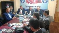 HALIL ELDEMIR - AK Parti'den Türkiye Kamu-Sen Bilecik İl Temsilciliğine Ziyaret
