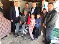 YÜRÜME ENGELLİ - AK Parti'li Baybatur Engelli Vatandaşı Sevindirdi