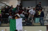 ALI AKYÜZ - Amatör Maçta Ortalık Karıştı Açıklaması Bir Futbolcu Yaralandı