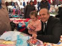 HÜSEYIN ARSLAN - Başkan Arslan, Cuma Pazarında Vatandaşları Ziyaret Etti