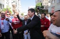 FANATİK TARAFTAR - Başkan Türel'den Antalyaspor Taraftarlarına Ziyaret