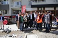 YÜRÜYÜŞ YOLU - Başkan Türel, Şarampol Caddesinde İncelemelerde Bulundu
