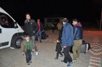 Çanakkale'de 16 Göçmen Yakalandı