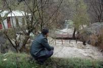 ASFALT ŞANTİYESİ - Debisi Yükselen Zap Suyu Birçok Köprüyü Yerinden Söktü