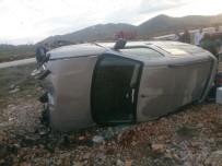 ERKENEK - İki Ayrı Kaza Açıklaması 9 Yaralı