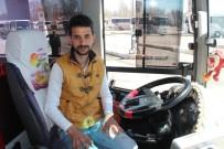 Kalp Krizi Geçiren Yolcuyu Halk Otobüsüyle Hastaneye Yetiştirdi