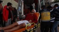 ALI AKYÜZ - Mersin'de Amatör Maçta Ortalık Karıştı