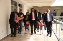 Sultan Kent Sakinlerinden Başkan Babaş'a Teşekkür Ziyareti