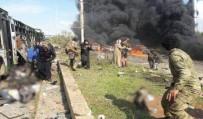 BOMBALI ARAÇ - Suriye'de Tahliye Konvoyunda Patlama