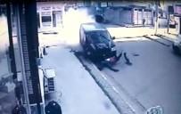 YENIÇIFTLIK - Tekirdağ'da Korkunç Kaza Kamerada Açıklaması Metrelerce Sürüklendi