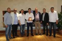 TURGUTREIS - Turgutreis Spor Kulübü Yeni Yönetiminden Ziyaret