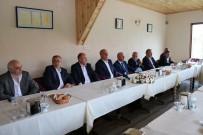 TANDOĞAN - Türk-İş Başkanı Atalay, Basın Mensuplarıyla Bir Araya Geldi