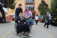 YAŞLI KADIN - 85 Yaşındaki Emekli Öğretmen Sandık Başına Koştu