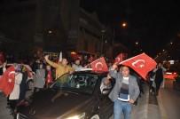 Erzincanlılar Sevinç Kutlamalarına Başladı