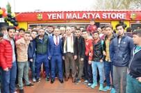 ÖZNUR ÇALIK - Evkur Yeni Malatyaspor'un Lisanslı Ürün Satış Mağazası Açıldı