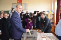 FERASET - İçişleri Bakanı Soylu Referandumda Oyunu Trabzon'da Kullandı