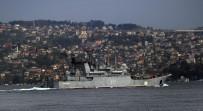 İstanbul Boğazı'ndan Rus Savaş Gemisi Geçti