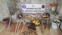 Karaman'da Kaçak Kazı Operasyonu Açıklaması 3 Gözaltı