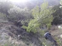 Kontrolden Çıktı 15 Metrelik Uçuruma Yuvarlandı Açıklaması 6 Yaralı