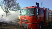 Lüleburgaz'da Kulübe Yangını