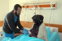 Mardin'de Hasta Seçmenler Oylarını Kullandı