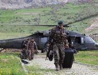 KAYACıK - Oy pusulaları askeri helikopterle taşındı