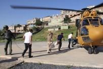 Siirt'te Oy Torbaları Helikopterle Taşındı