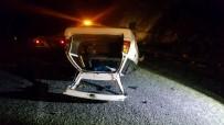 Sivas'ta Trafik Kazası Açıklaması 1 Yaralı