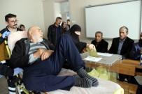 Sivas'ta Yatalak Hastalar Sandık Başına Gitti