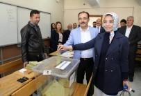AHMET OKUR - Uşak'ta Halk Oylaması Buruk Geçiyor