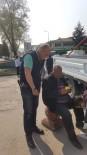Yaşlı Dilenciye Zabıtadan Geçit Yok