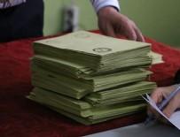 KAMU GÖREVLİSİ - Yurt dışında kullanılan oyların sayımına başlandı