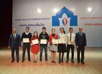 AHMET YESEVI - Ahmet Yesevi Üniversitesinde 'Yesevi Olimpiyatı' Düzenlendi