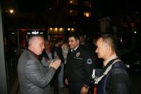 ÇAY BAHÇESİ - Başkan Aydın Çengelköy Kahramanlarını Ziyaret Etti