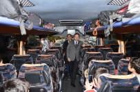 Başkan Tiryaki Çocukları Çanakkale'ye Uğurladı