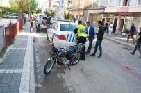 PARMAK İZİ - Çalıntı Motosikleti Bırakıp Kaçtılar