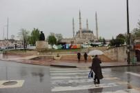 SU BASKINI - Edirne'de Sağanak Yağış Etkisini Sürdürüyor