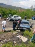 MESUT YILMAZ - Fatsa'da Trafik Kazası Açıklaması 1 Ölü, 2 Yaralı