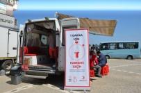 Kızılay Fatsa'da Kan Bağışı Topladı