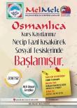 OSMANLıCA - Osmanlıca Türkçesi İle Bilgisayar Kursları Kayıtları Devam Ediyor