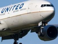 HOUSTON - United bu kez evlilik hazırlığı yapan çifti uçaktan attı
