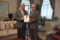 MAKEDONYA - Araştırmacı Yazar Şiyak, Vali Güvençer'e Kitabını Hediye Etti
