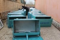 Başkale Belediyesine Çöp Konteyneri Desteği