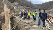 Başkan Yalçın Dereköy Barajında İncelemelerde Bulundu