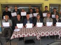 Demirköy'de Açılan Sürü Yönetimi Kursu Tamamlandı