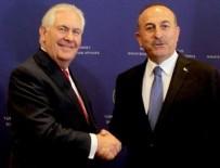 REX TILLERSON - Dışişleri Bakanı Çavuşoğlu ABD'li Mevkidaşıyla Görüştü