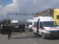 SANAYİ SİTESİ - Fatsa'da Trafik Kazası Açıklaması 3 Yaralı