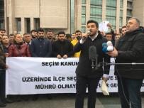 ADALET SARAYI - İstanbul Adliyesinde Seçim Sonuçlarına İtiraz Gerginliği