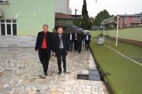 İSTİNAT DUVARI - İzmit'te Yağmur Altında Mahalle Turu